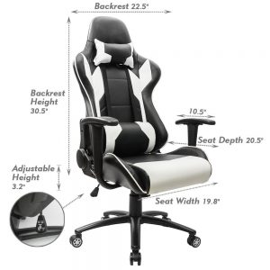 Homall Executive Swivel Leather Gaming Chair Review